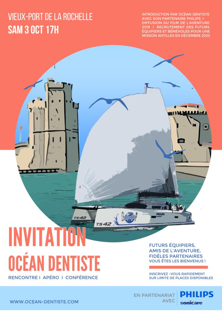 Venez découvrir l'aventure Océan Dentiste à LA ROCHELLE.
